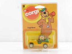Corgi Junior 82 Yogi Bear yellow Auto Cartoon 1:66 OVP