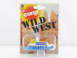 Corgi Toys 113 Wild West Paddle Steamer Schiff N MOC OVP SG