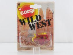 Corgi Toys 114 Wild West Pferde Postkutsche rot 1:66 MOC OVP SG