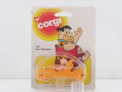 Corgi Toys 128 Fred Flintstone Feuerstein Auto MOC NM OVP