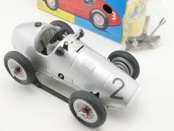 Schuco 1070 Grand Prix Racer Rennwagen Uhrwerk Silberpfeil #2 OVP