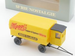 Roskopf 1051 Nostalgie Anhänger Maggi 1929 Modell 1:87 NEU! OVP