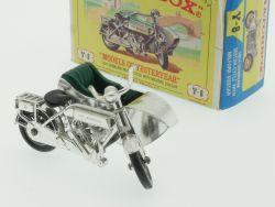 Matchbox Y-8 Models of Yesteryear 1914 Sunbeam Motor Cycle OVP