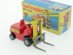 Matchbox 15 A Superfast Fork Lift Truck Hi-Lift near mint OVP