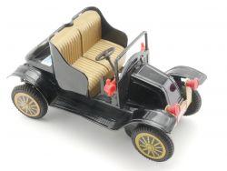 Japan BY-234 Oldtimer Renault Blechspielzeug Batterie schön!