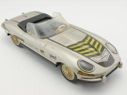 Lendulet Lemez Hungary Jaguar E-Type Sport Lady Blech 1966