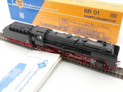 Roco 04119 A Dampflokomotive BR 01 111 DC DB H0 schön! OVP