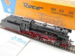 Roco 04120 A Dampflok BR 23 105 DC DB H0 1x Licht schön! OVP