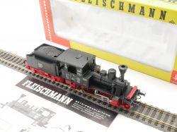 Fleischmann 4111 Dampflok ELB Maffei Nr.5 H0 pfiffiger Umbau OVP