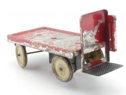 Märklin 5234 Gepäckkarre Uhrwerk Blechspielzeug Spur 0 Vorkrieg AP