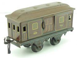 10/58 GBN Bing Postwagen Gepäckwagen 20er Jahre SW 0 selten AP