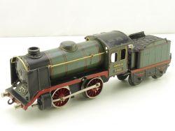 Märklin R 900 Dampflokomotive Spur 0 Tin Plate Uhrwerk grau! AP