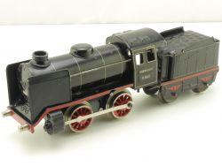 Märklin R 880 Dampflokomotive Spur 0 Tin Plate Uhrwerk gut!