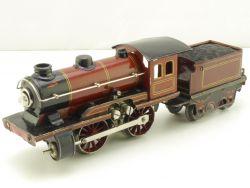 Märklin R 12950 N Dampflokomotive Spur 0 Tin Plate 1929 lese