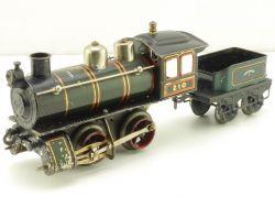 Märklin R 950 Dampflokomotive Spur 0 Tin Plate Uhrwerk 1927