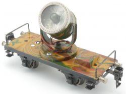 Märklin 1959/0 Scheinwerferwagen Blech mimikry 1937 SW 0  AP