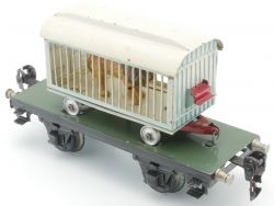 Märklin 1983/0 T Plattformwagen Tierschauwagen Löwe Zirkus AP