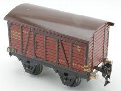 Märklin 1681/0 Gedeckter Güterwagen Blech Tin SW 0 original  AP