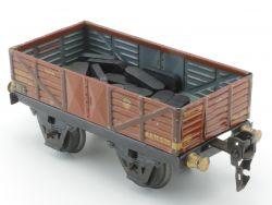Märklin 1661/0 Offener Güterwagen rotbraun original hübsch AP
