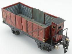 Märklin 1771/0 Offener Güterwagen Bremserhaus Spur 0 lesen! AP