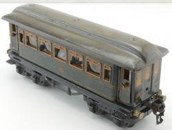 Märklin 1746 Speisewagen blau 1886 Blechwagen Tin Plate selten AP