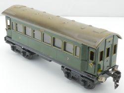 Märklin 1751/0 Personenwagen grün 24,5 cm Spur 0 Blech Tin AP