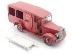 Tekno 351 Falck Krankenwagen Trage Dänemark Tin Toy Blech AP