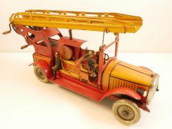 Günthermann SG große Feuerwehr Blechspielzeug original 30er AP