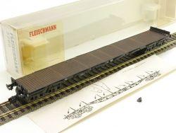 Fleischmann 5286 Rungenwagen Flachwagen Rs 684 DB lesen OVP MA
