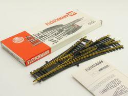 Fleischmann 6058 Drei-Wege-Weiche Modellgleis ohne Antrieb OVP ST