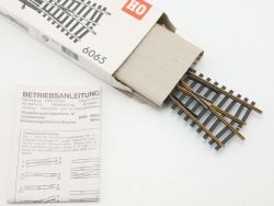 Fleischmann 6065 Doppel-Kreuzungsweiche Modellgleis DKW TOP! OVP ST