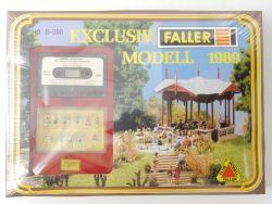 Faller B-380 Exclusiv Modell 1989 Musikpavillion Lahr NEU! OVP MS