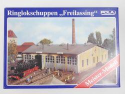 Pola 670 Ringlokschuppen Freilassing Modellbahn H0 TOP! RAR! OVP MS