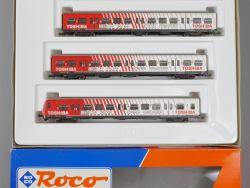 Roco 44020 S-Bahn Wagen-Set Toshiba Beleuchtung DB lesen OVP MS