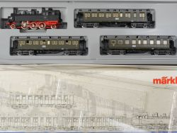 Märklin 2865 Zugset Personenzug DRG BR 75 Württemberg Bauart OVP MS