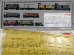Märklin 4789 Güterwagenset Deutscher Staatsbahn-Wagenverband OVP MS
