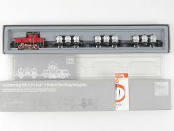 Märklin 2874 Güterzug E 63 mit 3 Behältertragwagen Jubiläum  OVP MS