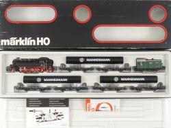 Märklin 2854 Mannesmann Röhrenzug Zugset Dampflok BR 86 578 OVP MS