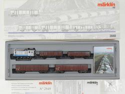 Märklin 2848 Belgischer Zementzug CCB V36 215 Lok defekt  OVP MS