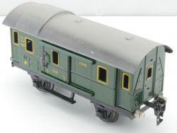 Märklin 17280 Gepäckwagen Pwi grün 18,5 Spur 0 Blech Tin MS