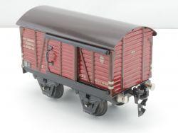 Märklin 16810 Gedeckter Güterwagen Blech Tin SW 0 original  MS