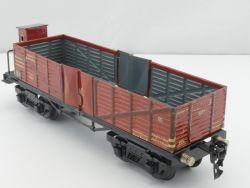 Märklin 18510 Hochbordwagen 24,5 cm Bremserhaus Spur 0 TOP! MS