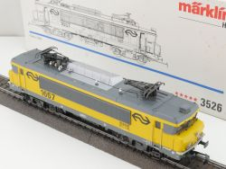 Märklin 3526 Elektrolokomotive 1657 NS Niederlande AC schön! OVP MS