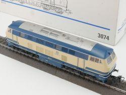 Märklin 3074 Diesellokomotive BR 216 090-1 DB beige/blau TOP OVP MS
