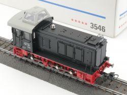 Märklin 3546 Diesellok V36 123 DB Bundesbahn schwarz AC TOP! OVP MS