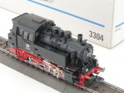 Märklin 3304 Dampflok BR 80 030 DB Metallgehäuse wie NEU! OVP MS