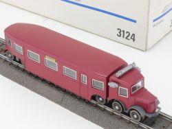 Märklin 3124 Schienenbus Micheline Frankreich H0 AC wie NEU! OVP MS