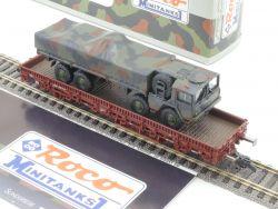 Roco 809 Minitanks Rungenwagen Kbs 442 mit MAN 10 t gl NEU! OVP MS