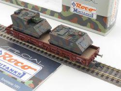 Roco 804 Minitanks Rungenwagen M113 M577 A1G Militär DC NEU! OVP MS