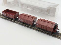 Fleischmann 5834-92 K Klappdeckelwagen Güterwagen Set DB NEU OVP MS